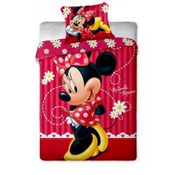 Povlečení Disney - Minnie stripe 2015 1x 140/200, 1x 90/70