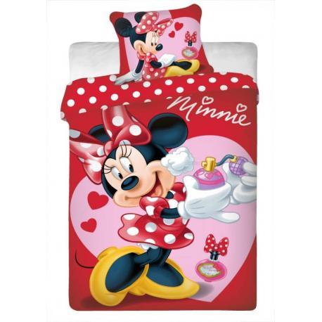 Povlečení Disney - Minnie voňavka 1x 140/200, 1x 90/70