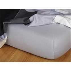 Jersey prostěradlo 90x220 cm (šedé)