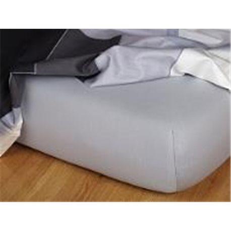 Jersey prostěradlo 200x220 cm (šedé)