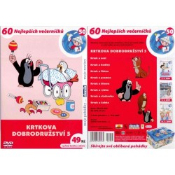 DVD Krtkova dobrodružství 5