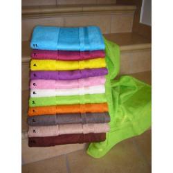 Bambusový ručník Panda 50x100 cm (oranžový)