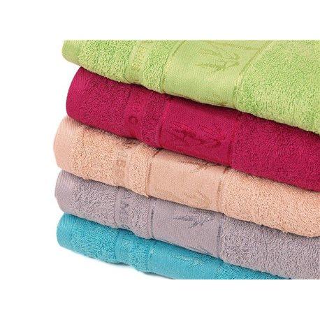 Bambusový ručník Asie 50x100 cm (béžový)