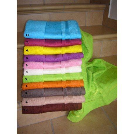 Bambusový ručník Panda 50x100 cm (ostružinový)