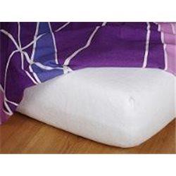 Froté prostěradlo 180x200 cm (bílé)