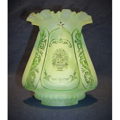 Stínítko na petrolejovou lampu S0166
