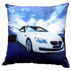 Dětský polštářek BMW bílé