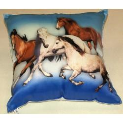 Dětský polštářek Stádo koní