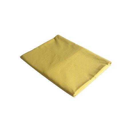 Bavlněné prostěradlo 220x240 cm (žluté)