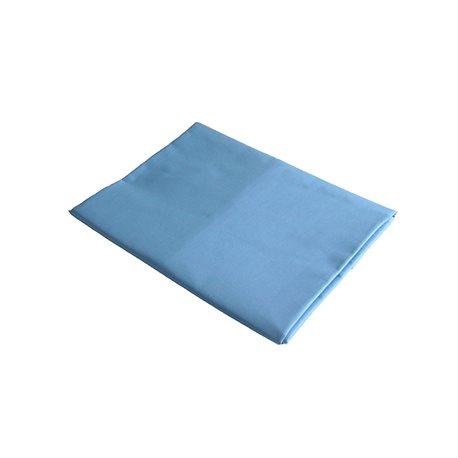 Bavlněné prostěradlo 140x240 cm (modré)