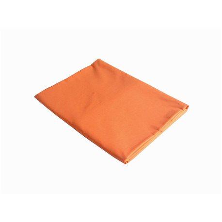 Bavlněné prostěradlo 140x240 cm (pomerančové)