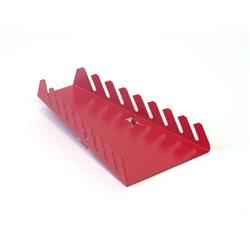 Držák na 8 ks klíčů svislý (červený)