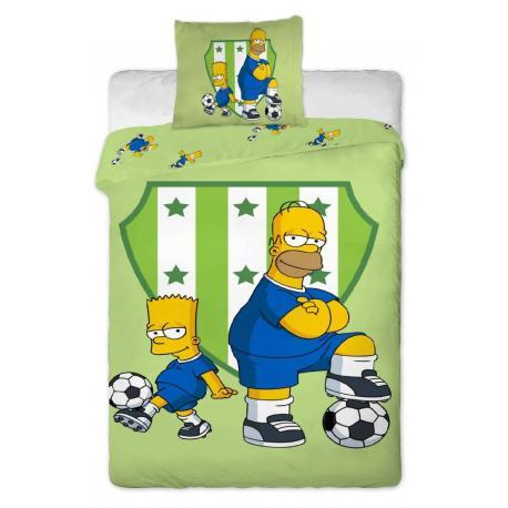 Povlečení Simpsons Bart a Homer 140x200 70x90