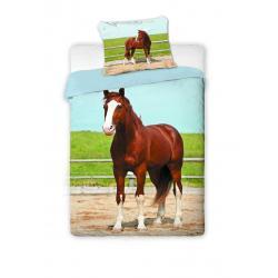 Jerry Fabrics Povlečení fototisk Kůň 2016 140x200 70x90