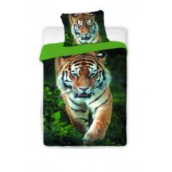Jerry Fabrics Povlečení Tygr 2016 - bavlna 140x200 70x90