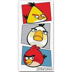 HALANTEX Osuška Angry Birds bílá 70x140 cm