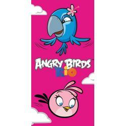 CARBOTEX Osuška Angry Birds Stella a Perla 70x140 cm