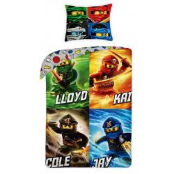 Halantex Povlečení Lego Ninjago Mistři bavlna 140x200 70x90