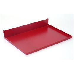Polička 90°, délka 220 mm (červená)