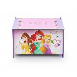 Delta Dřevěná truhla na hračky Princess TB84564PS