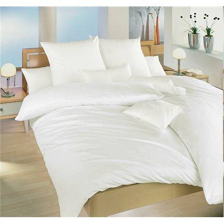 DADKA Bavlněné povlečení bílé 140x220, 70x90 cm