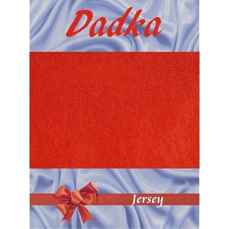 Dadka Jersey prostěradlo EXCLUSIVE terakota 90x200 cm