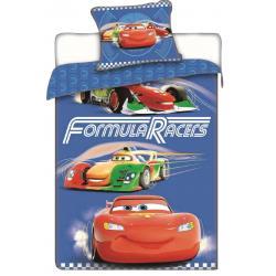 Jerry Fabrics Povlečení Disney Cars racers 140x200 70x90