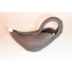 Keramická petrolejová lampa (drátovaná Aladinova lampa)