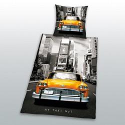 Herding bavlna povlečení New York Taxi 140x200 70x90 - Rozbaleno