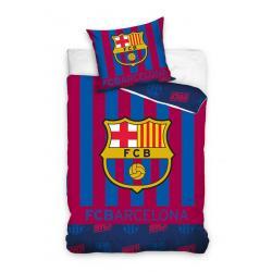 Carbotex Povlečení Barcelona pruhy bavlna 140x200 70x80
