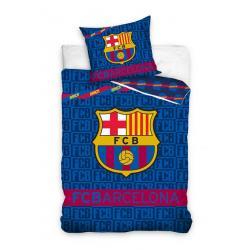 Carbotex Povlečení Barcelona nápisy bavlna 140x200 70x80