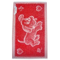 Dětský ručník Pejsek červený 30x50