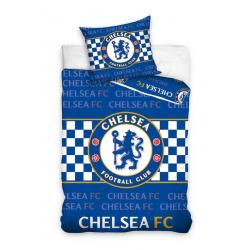 Carbotex povlečení Chelsea nápisy bavlna 140x200 70x80