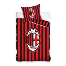 Povlečení AC Milán pruhy