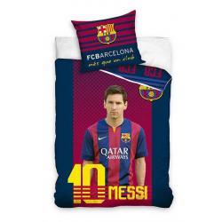 CARBOTEX povlečení Barcelona Messi bavlna 140x200 70x80
