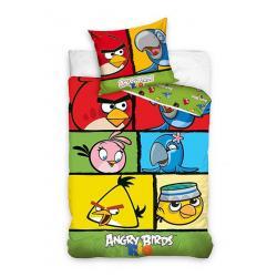 Dětské povlečení Angry Birds Rio kostky