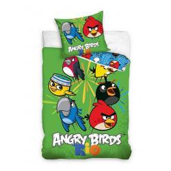 Dětské povlečení Angry Birds Rio