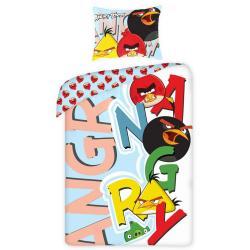 Dětské povlečení Angry Birds písmena