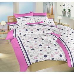 Dadka Pluto růžové povlečení bavlna 140x200 70x90