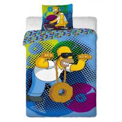 Jerry Fabrics Povlečení Povlečení Homer Simpson DJ bavlna 140x200 70x90