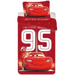 Jerry Fabrics Povlečení Disney Cars 95 red 140x200 70x90
