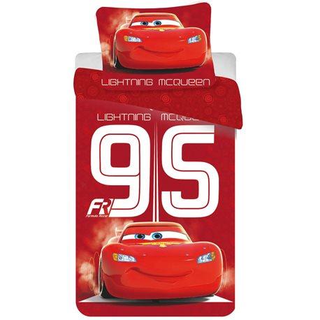 JERRY FABRICS Povlečení Cars 95 Red 140x200 70x90 cm
