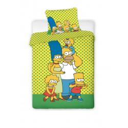 Jerry Fabrics bavlna povlečení The Simpsons 140x200 70x90