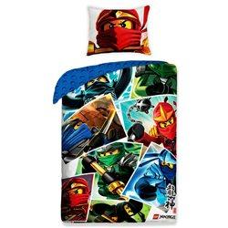 Halantex Povlečení Lego Ninjago bavlna 140x200 70x80