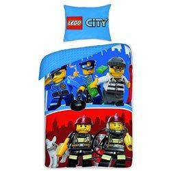 Halantex Povlečení Lego City bavlna 140x200 70x90