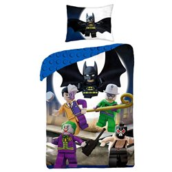 Halantex Povlečení Lego Super Heroes bavlna 140x200 70x80