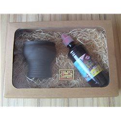 Dárkové balení zahradní lampy s čirým lampovým olejem