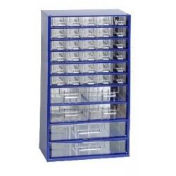 Závěsná skříňka 6765 (modrá)