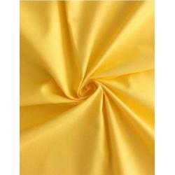 Saténové povlečení 140x200, 70x90 cm (žluté)