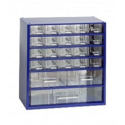 Závěsná skříňka 6731 (modrá) 2. jakost